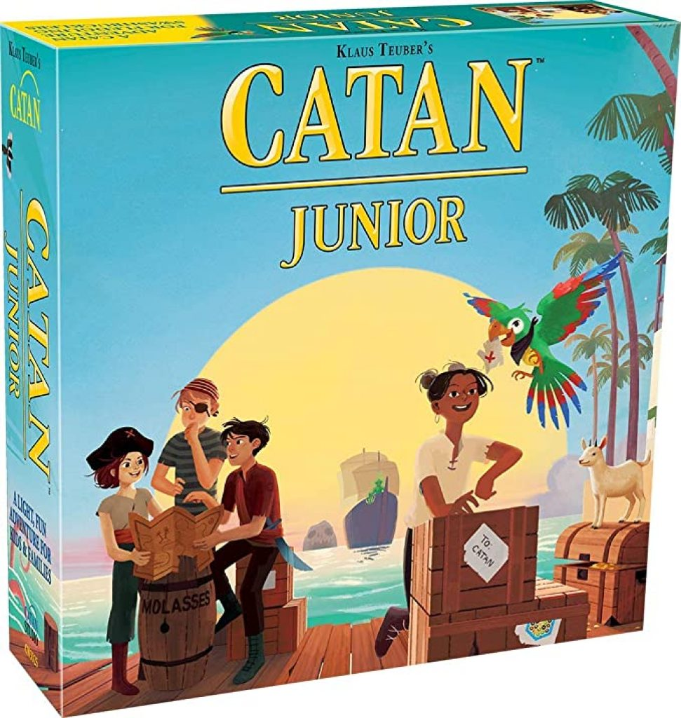 catan junior board game for families