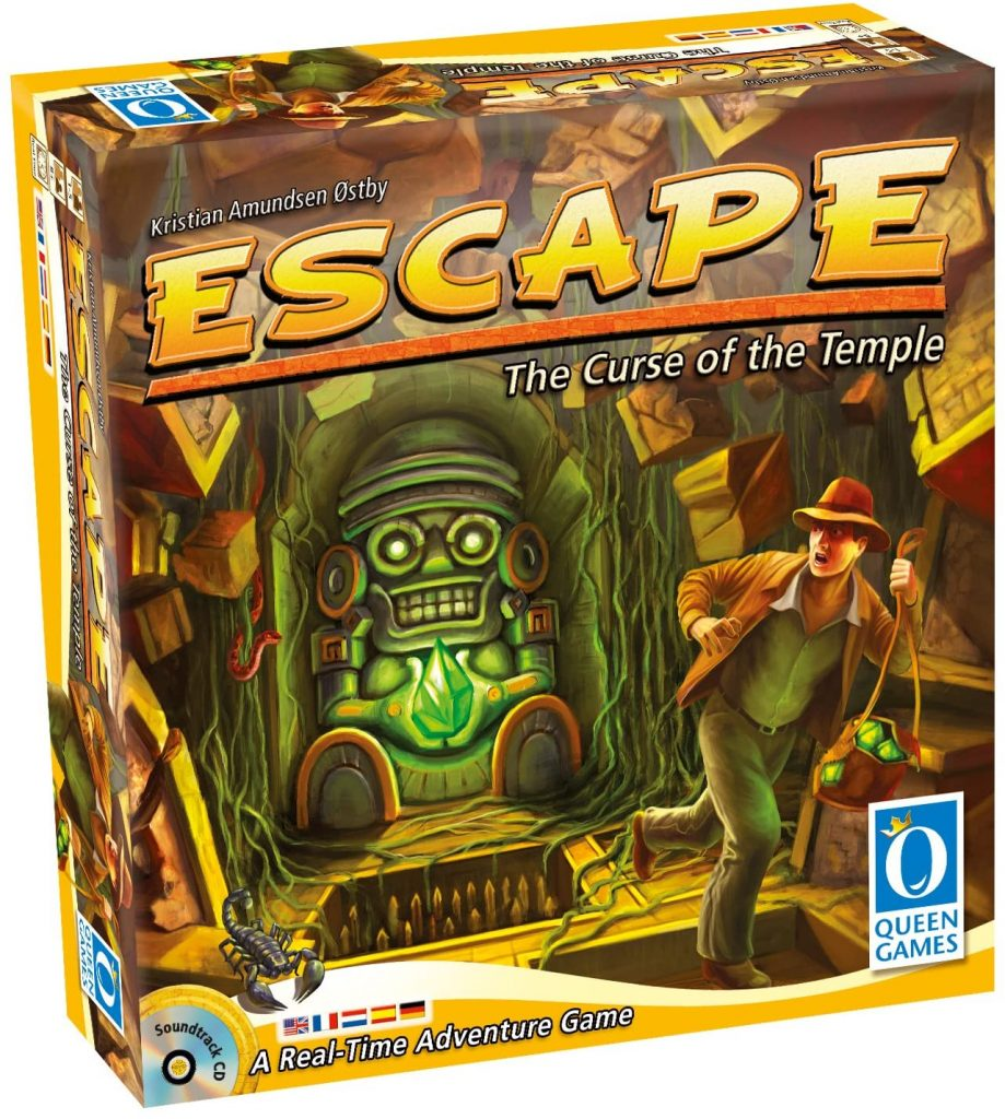 Escape The Curse of the Temple Board Game for Christmas Game Night