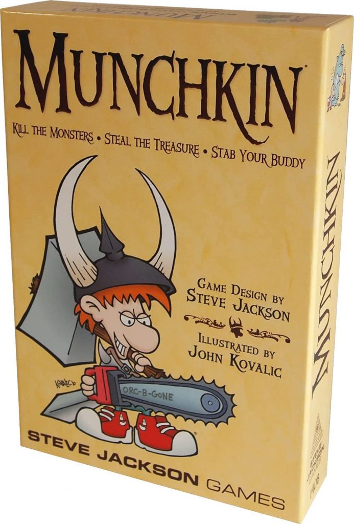 Munchkin Board Game that Ruin Friendships