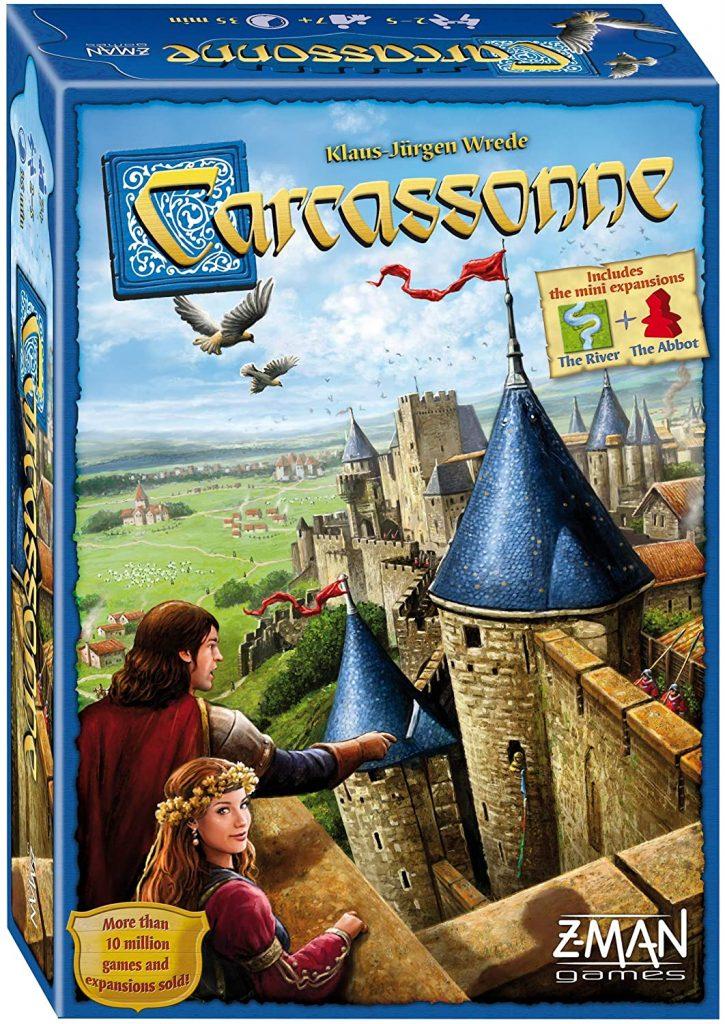 Carcassonne Tile Board Game