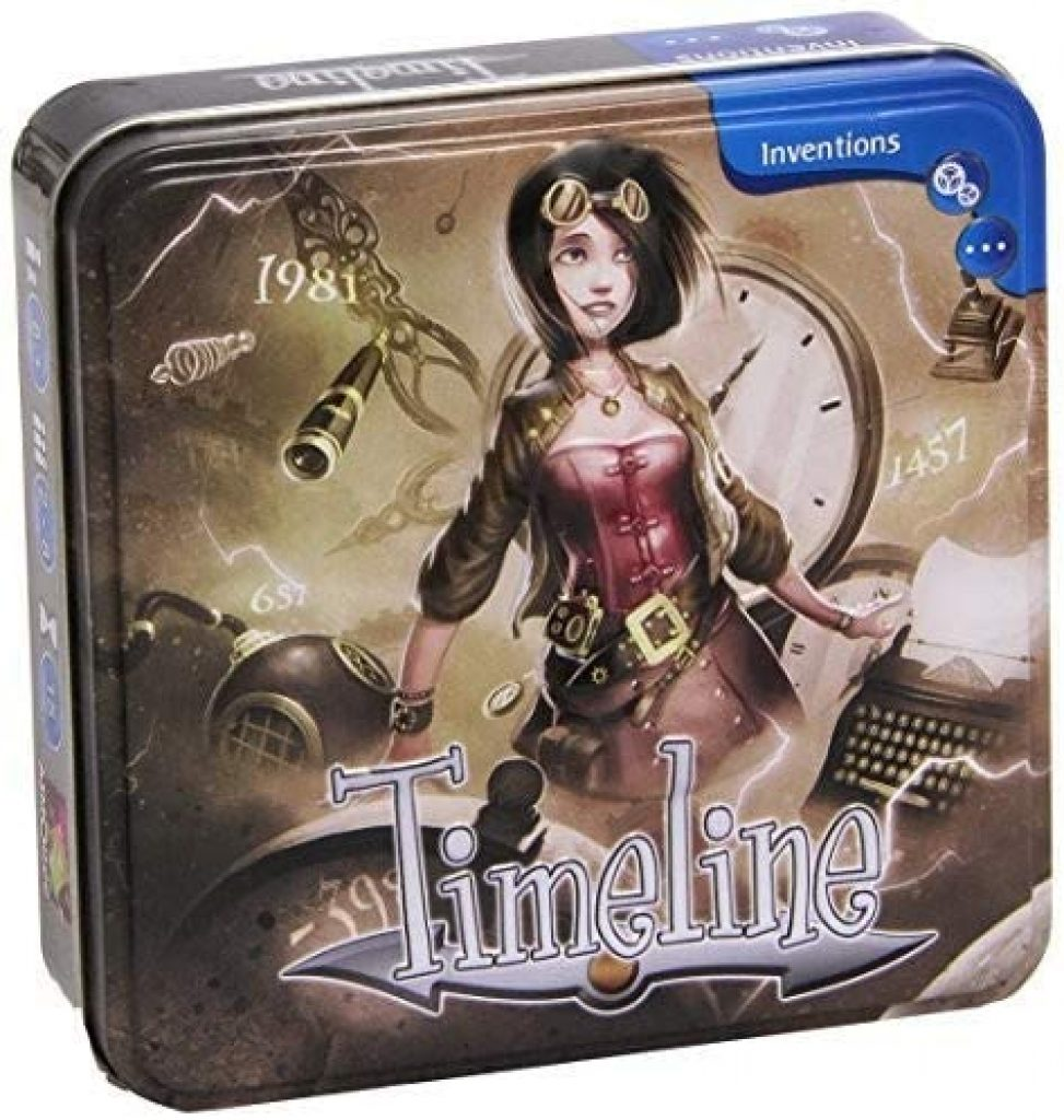 Timeline Inventions Board Game