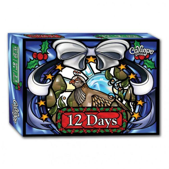 12 Days Card Game Calliope Games