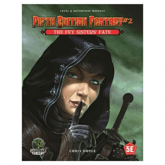 5E Fantasy #2: The Fey Sisters Fate Role Playing Games Goodman Games
