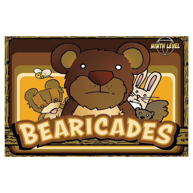 9th Level: Bearicades Multicolor Card Game