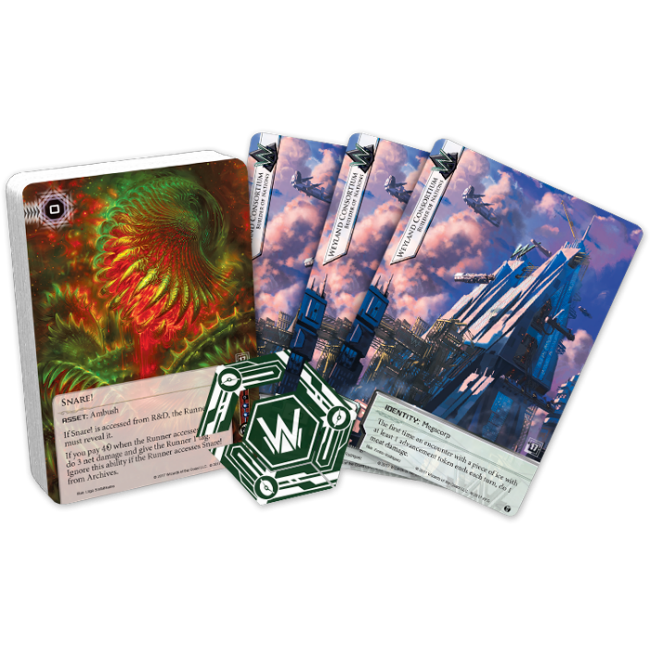 Android: Netrunner Quarterly Kits Collectible Card Game