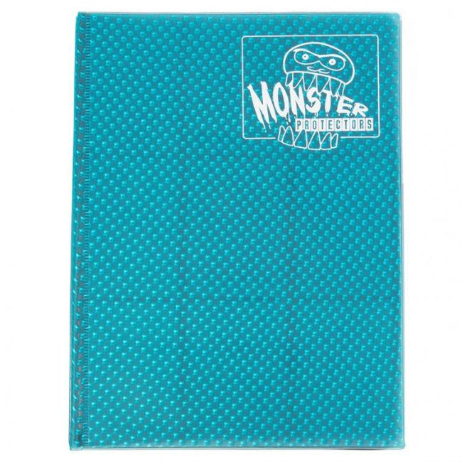 Binder: 9pkt Holofoil Aqua Blue Accessories
