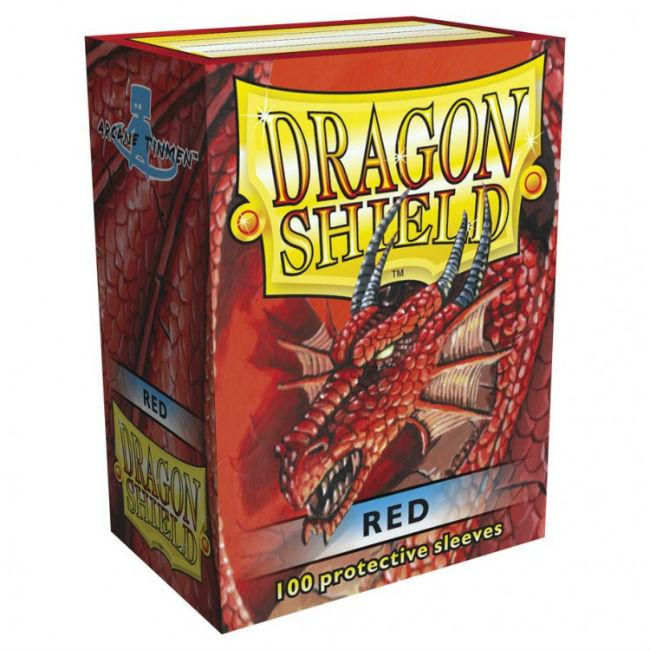 DP: Dragon Shield: Red (100) Accessories