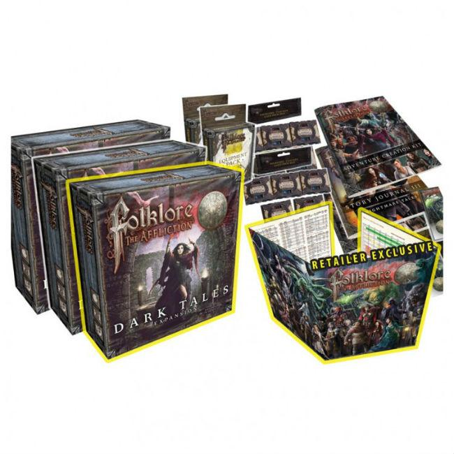 Folklore: The Affliction: Expansion Kit Board Game