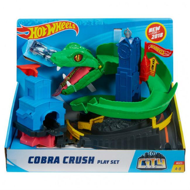 HW: CS: Cobra Crush Plyst Toys and Action Figure