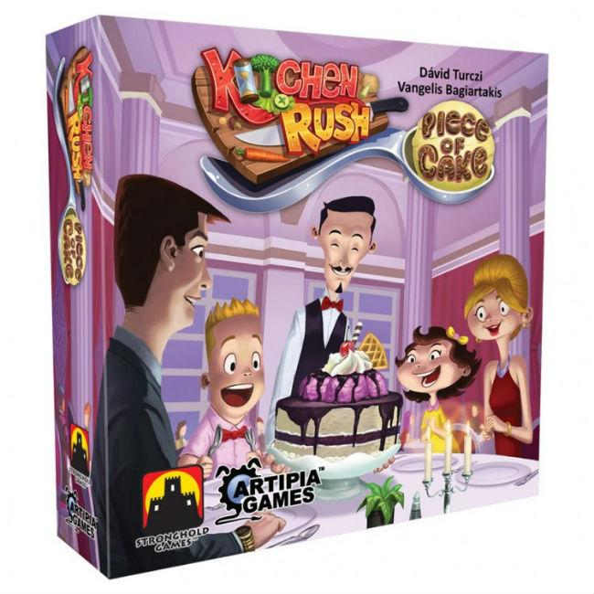 Kitchen Rush: Piece of Cake Board Game