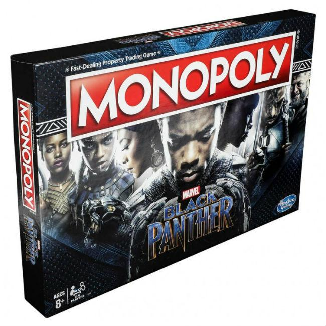 Monopoly: Black Panther Board Game
