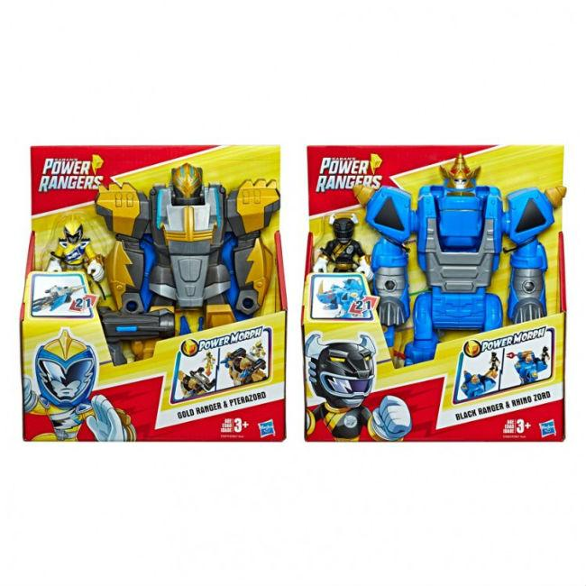 PRG: PSH: Morphin Zords (3) Toys and Action Figure