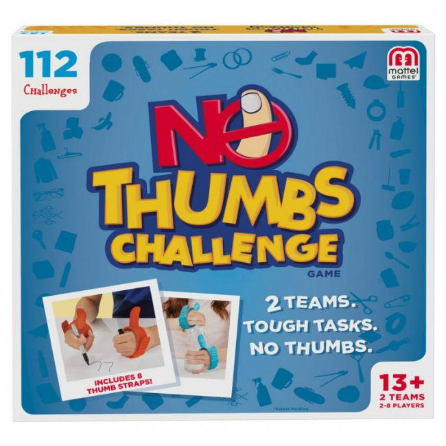 The No Thumb Challenge
