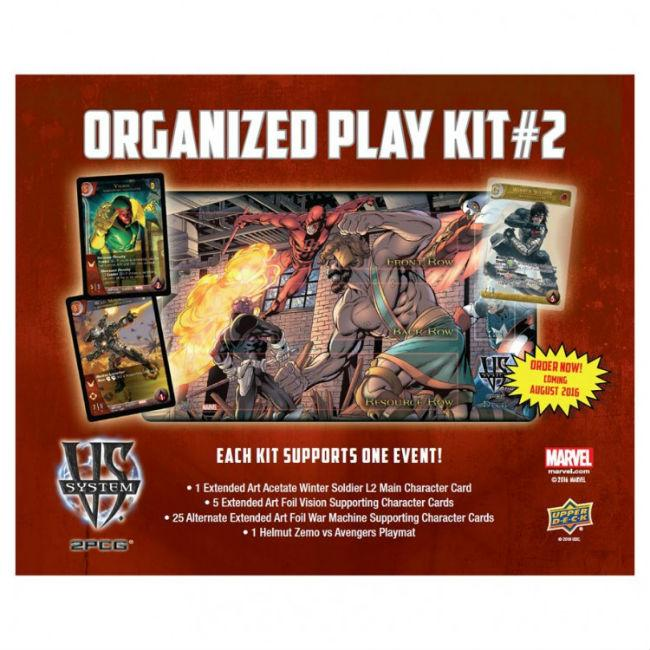 VS. System 2PCG: Organized Play Kit 2 Clearance