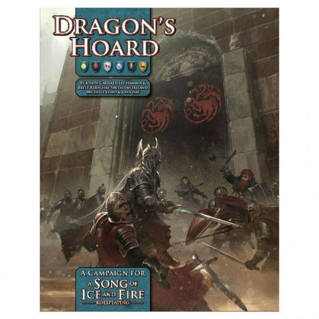 A Song of Ice and Fire: Dragon‰Ûªs Hoard Role Playing Games Green Ronin Publishing