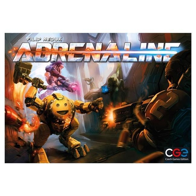 Adrenaline Game Board Game 5 Player