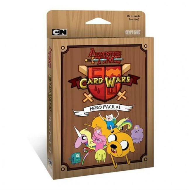 Adventure Time Card Wars Hero Pack 1