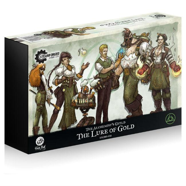 Alchemists The Lure of Gold Miniatures