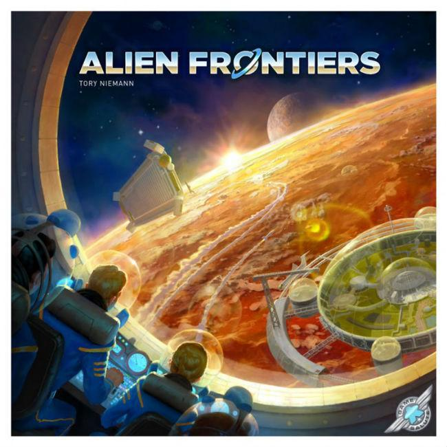 Alien Frontiers 5th Edition Board Game Game Salute