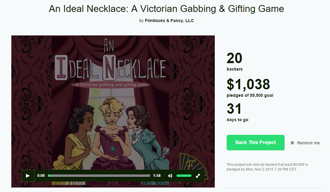 An Ideal Necklace Board Game