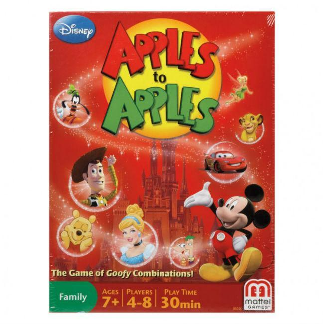Apples To Apples: Disney Card Game Mattel
