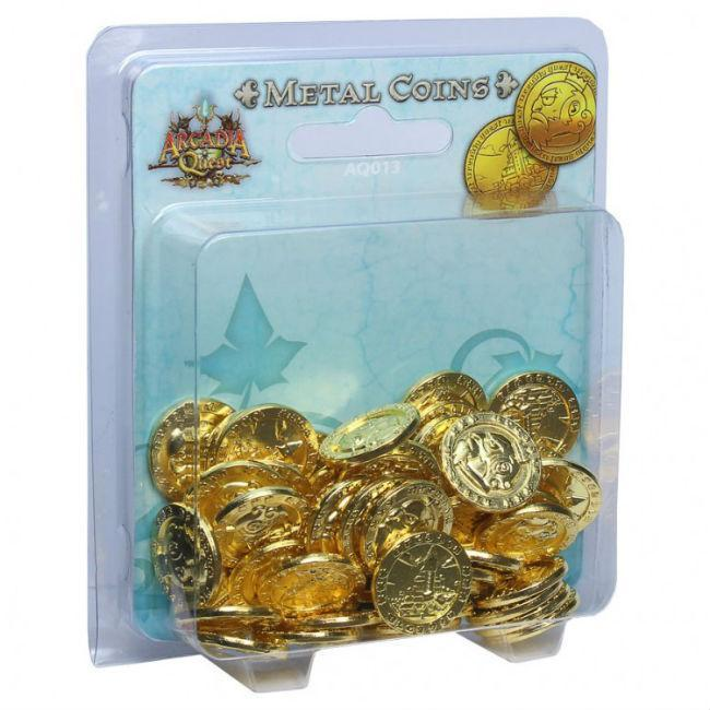 Arcadia Quest: Metal Coin Pack Accessories CMON