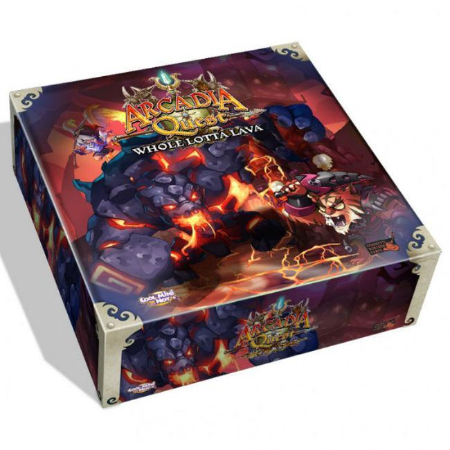 Arcadia Quest Whole Lotta Lava Board Game