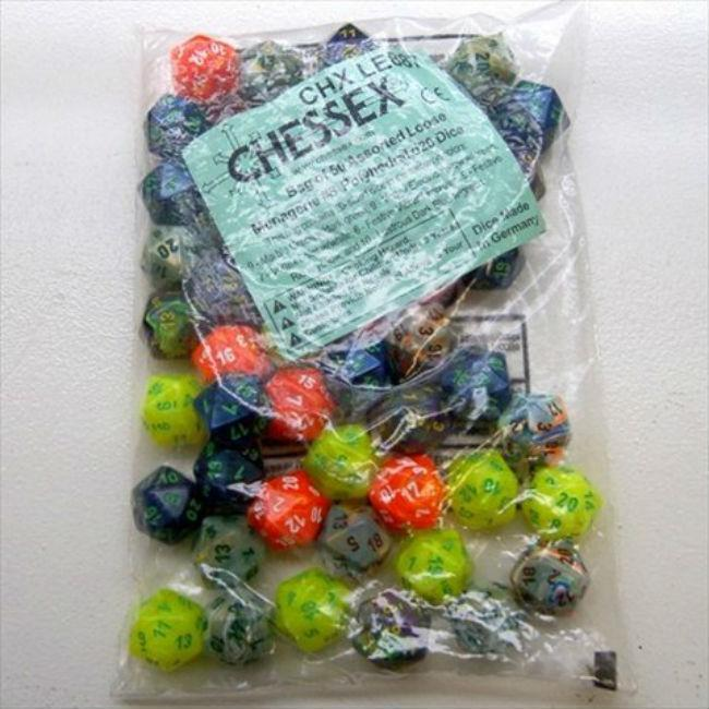 Assorted Menagerie 8 Bag (50) Accessories Chessex Manufacturing