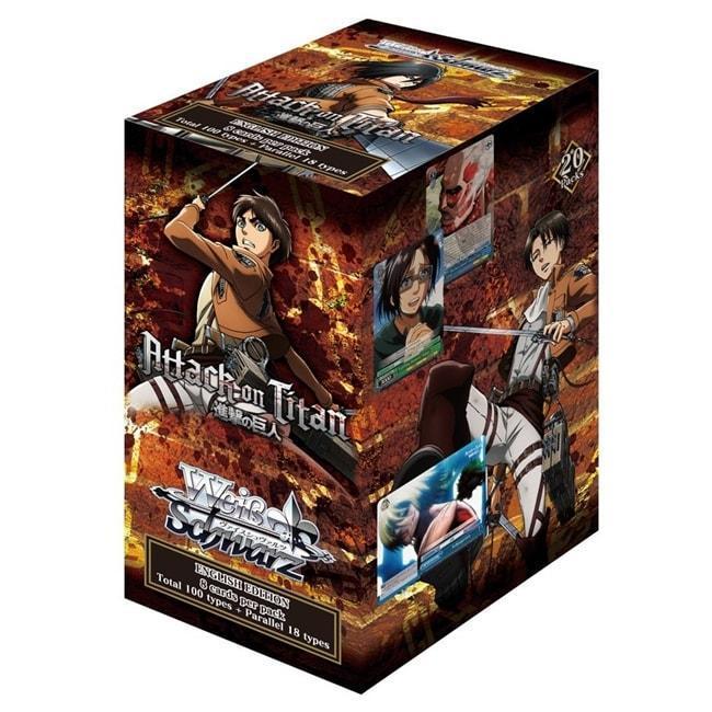 Attack on Titan Booster Box SW
