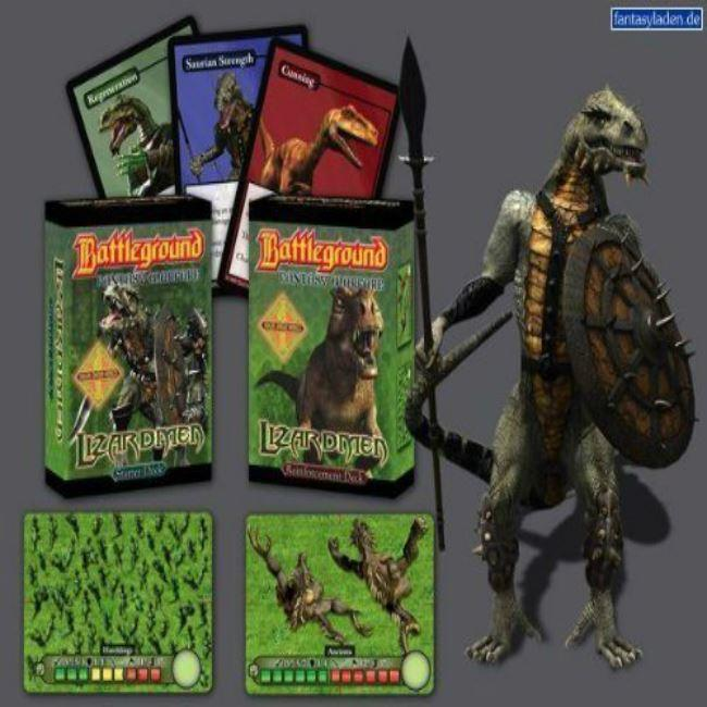 Battleground Lizardmen Starter Card Game
