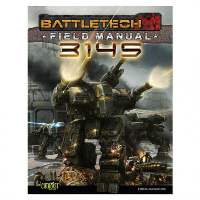 Battletech Field Manual 3145 Role Playing Games Catalyst Game Labs