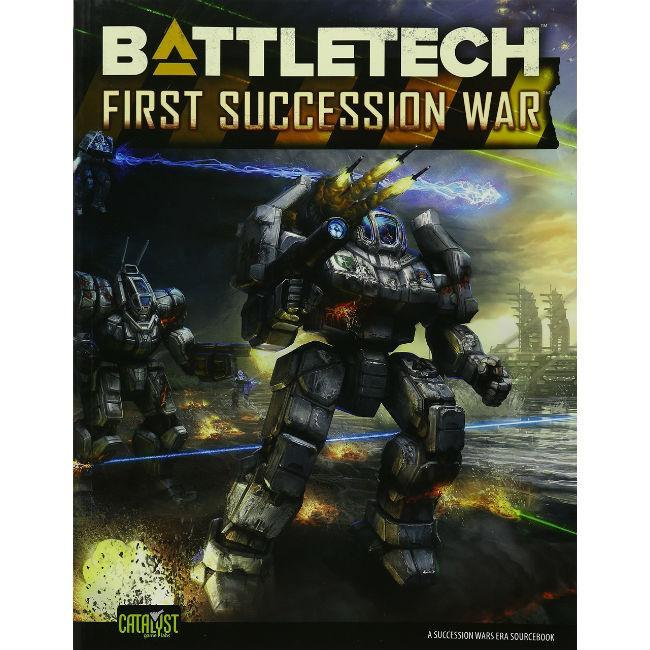 Battletech: First Succession War Role Playing Games Catalyst Game Labs