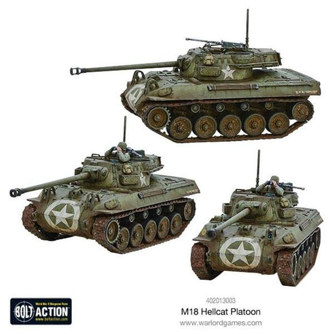 Bolt Action: Hellcat Platoon Miniatures Warlord Games