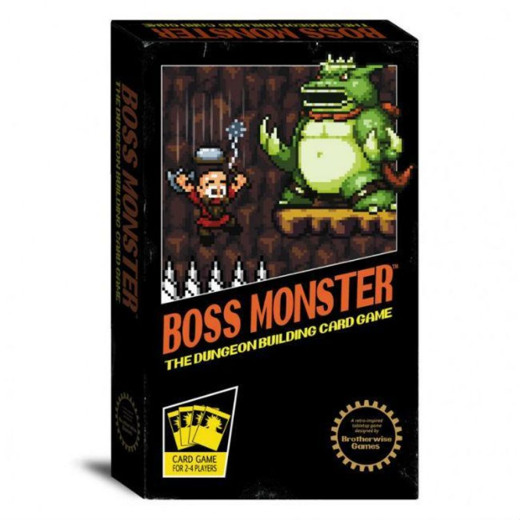 Boss Monster The Dungeon Building Card Game Card Game Brotherwise Games