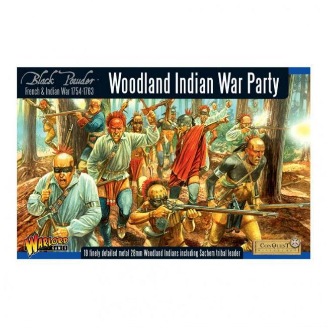 BP: FIW: Woodland Indian War Party Miniatures Warlord Games