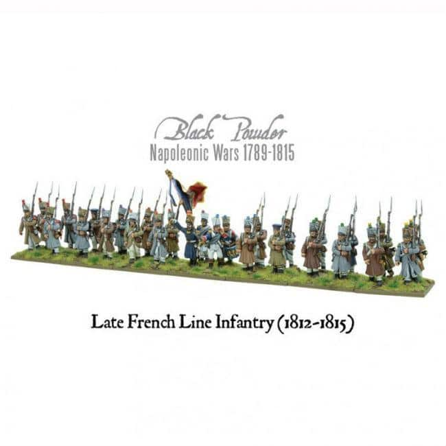 BP: Nap: Late French Line Inf. 1812-1815 Miniatures Warlord Games