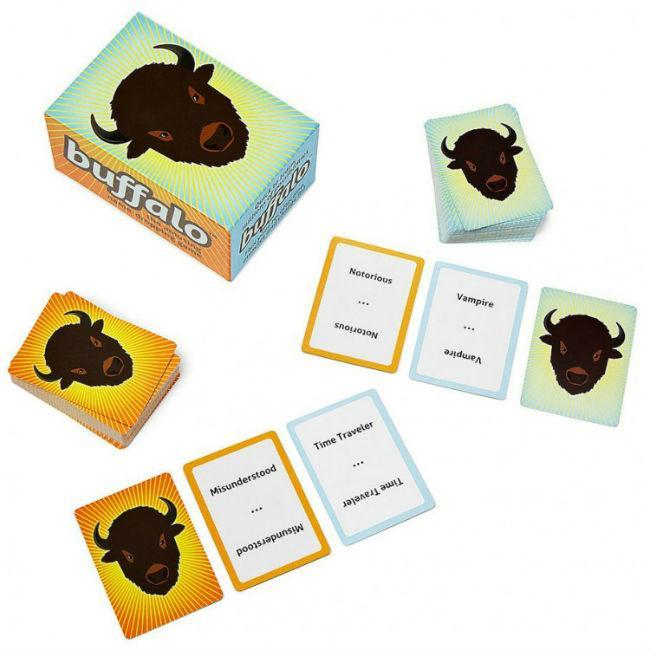 Buffalo: The Name Dropping Game Card Game Resonym