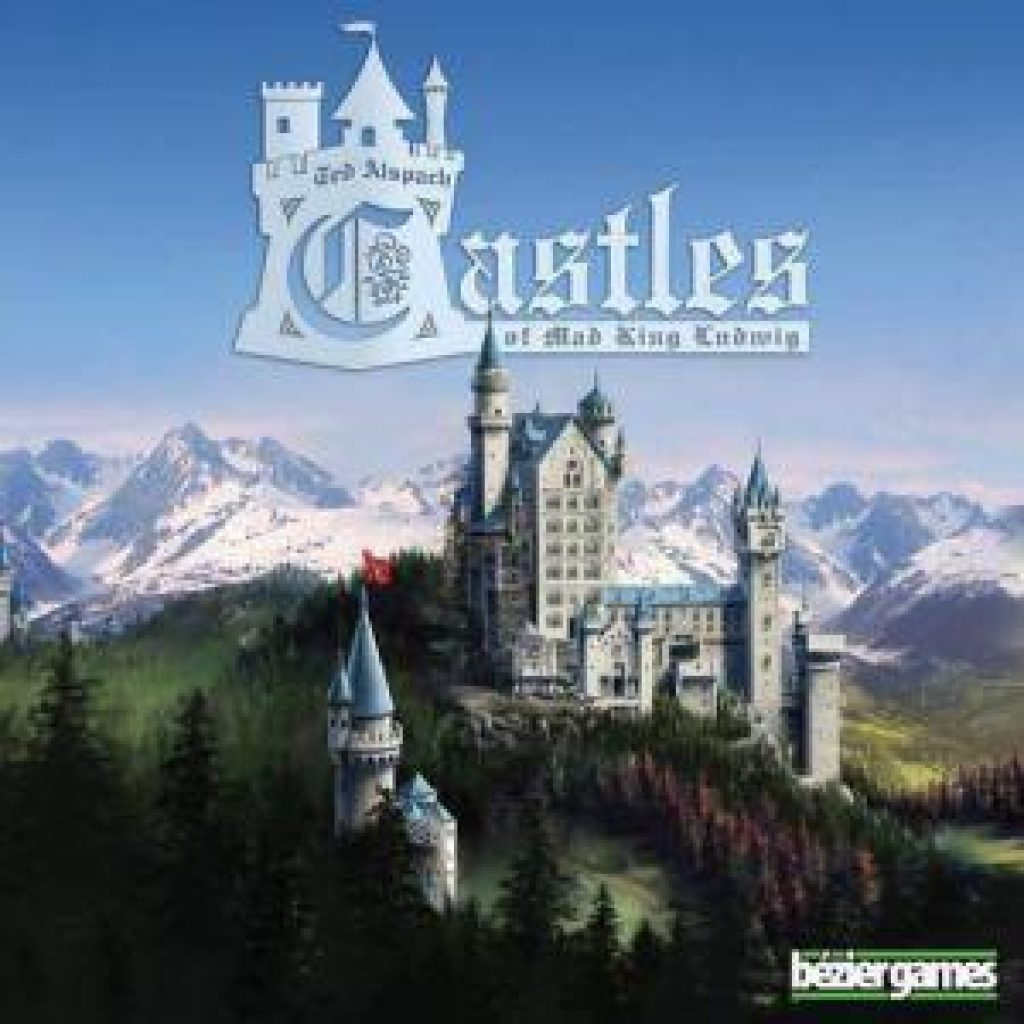Castles of Mad King Ludwig for valentine's day board games
