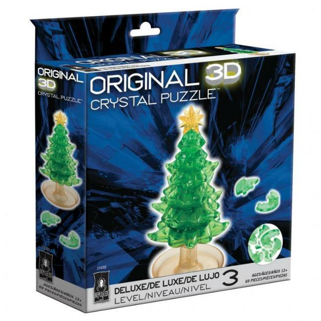 Christmas Tree 3D Crystal Puzzle