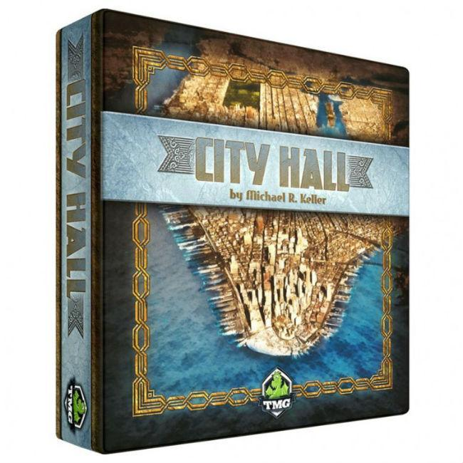 City Hall Board Game Tasty Minstrel Games