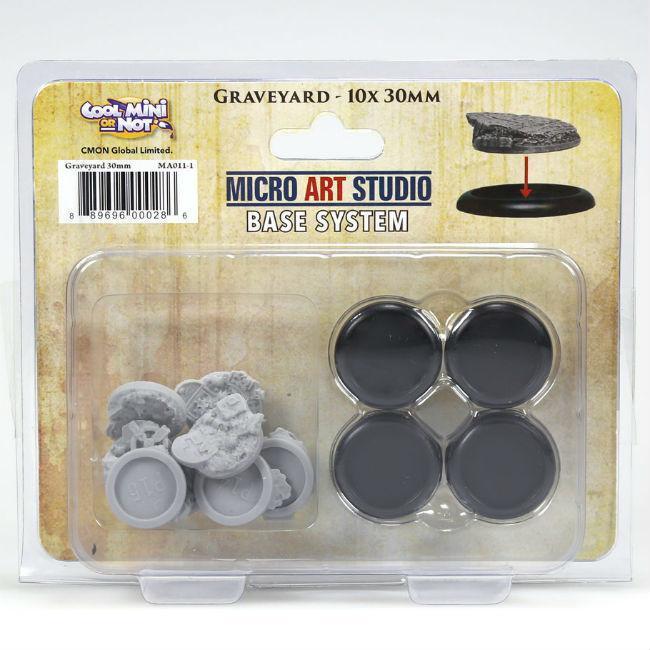 CMON: Graveyard Base Set small Miniatures Miniatures CMON