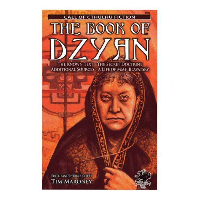 CoC: The Book of Dzyan (Novel) Accessories Chaosium