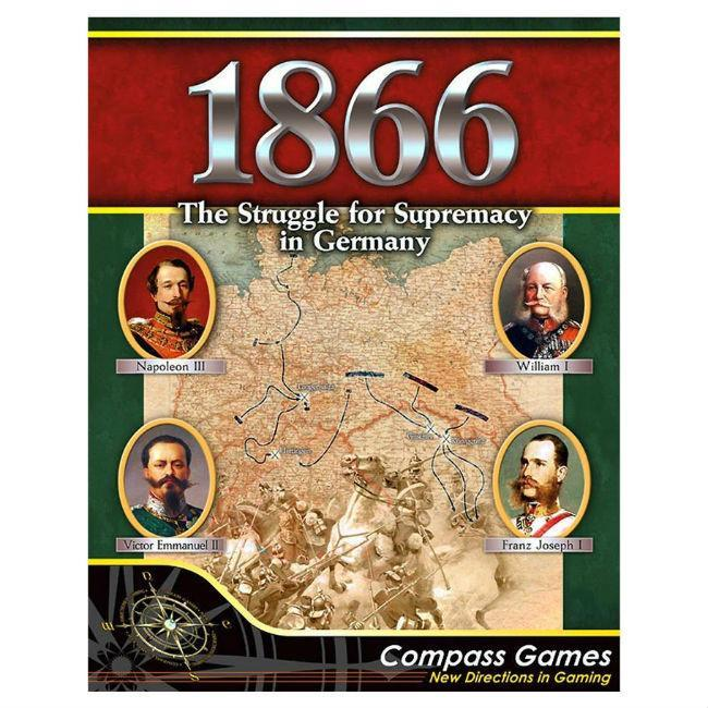 Compass: 1866 Struggle for Supremacy in Germany Board Game