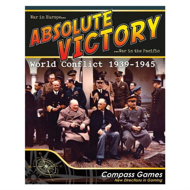 Compass Games: Absolute Victory World Conflict 1939-1945, Boardgame