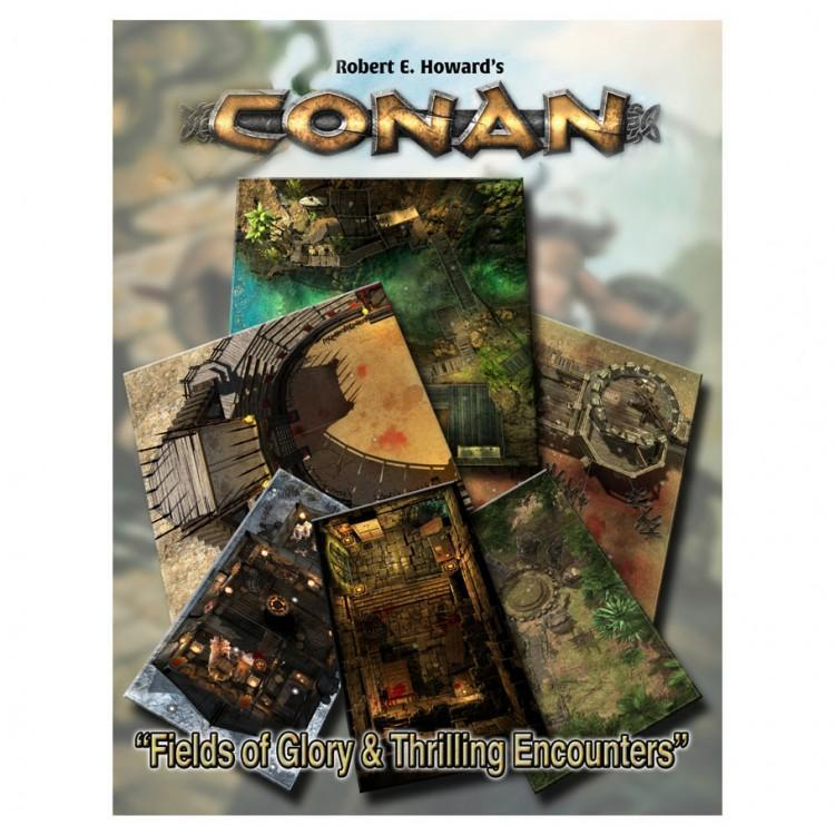Conan: Fields Glory/Thrilling Encounters Role Playing Games Modiphius Entertainment