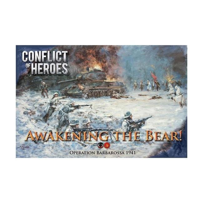 Conflict Of Heroes Awakening The Bear 2nd Edition