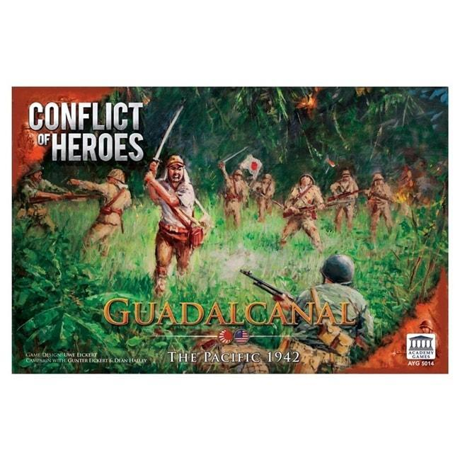 Conflict of Heroes: Guadalcanal Board Game Academy Games