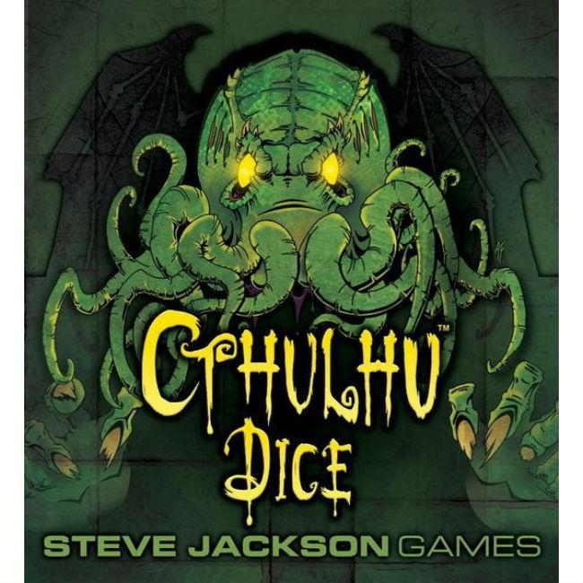 Cthulhu Dice Board Game Steve Jackson Games