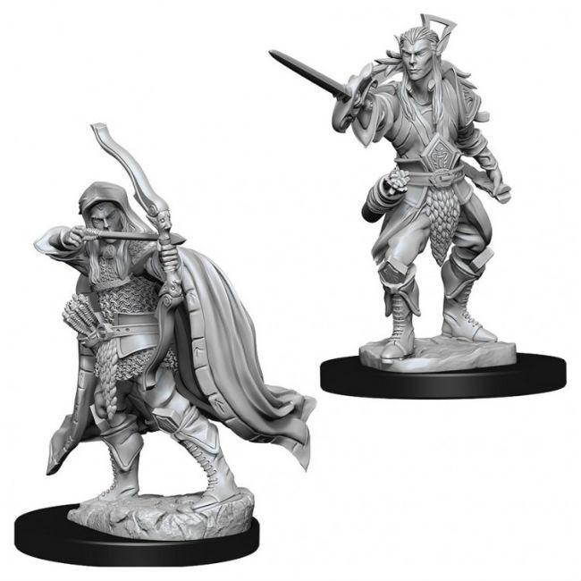 D&D NMU: Male Elf Rogue Miniatures WizKids