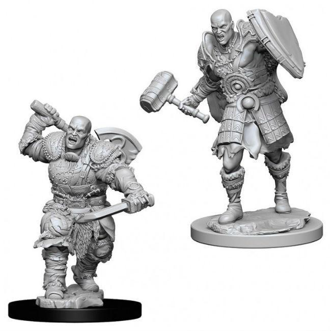 D&D NMU: Male Goliath Fighter Miniatures WizKids